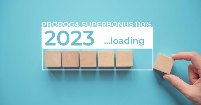 Superbonus 110%, in arrivo proroga fino al 2023