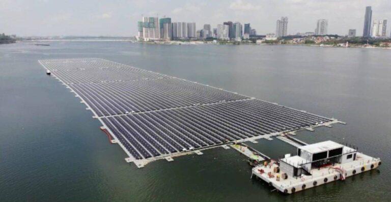 FV sul mare, parco a Singapore produrrà oltre 6 milioni di kWh all'anno