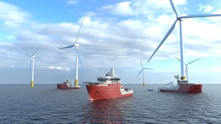 Fincantieri, tre navi speciali per il parco eolico in costruzione nel Mare del Nord