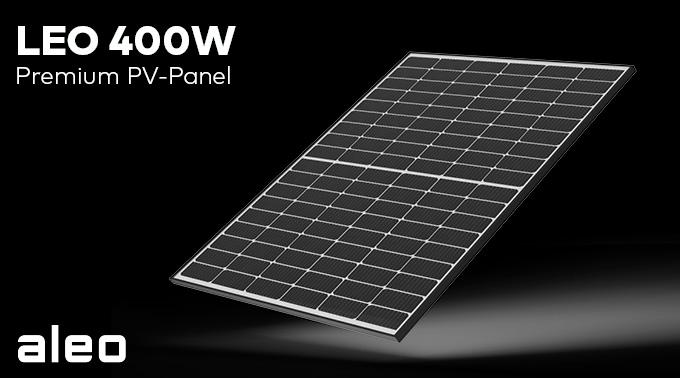 Aleo solar GmbH, nuova serie di moduli FV da 400W