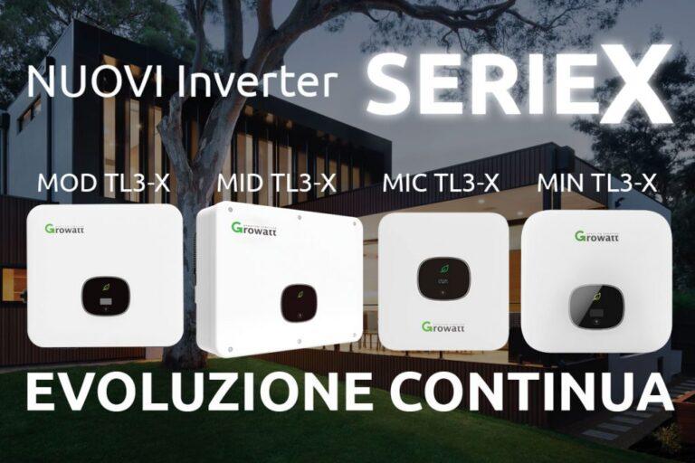 Growatt, nuova serie di inverter X per gli impianti FV di taglia residenziale