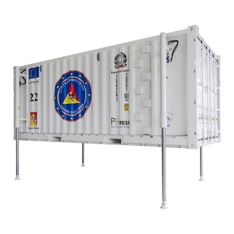 Piemme, specialista dei containers per impianti FV e per l'energy storage