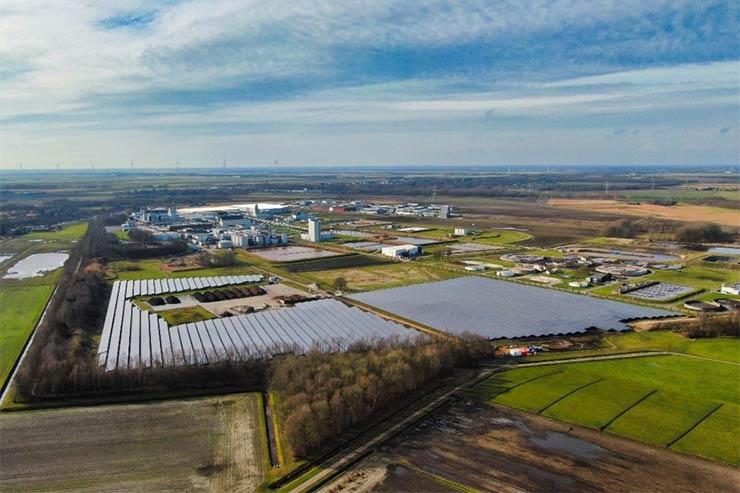 LONGi, installati moduli per 15,49 MW in un parco fotovoltaico dei Paesi Bassi