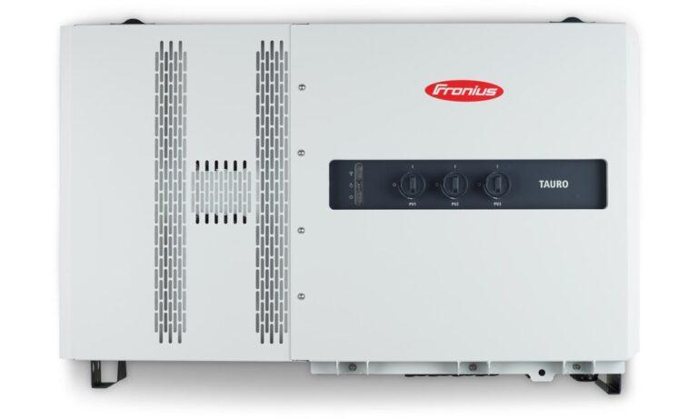 Fronius lancia il nuovo inverter Tauro per impianti FV commerciali