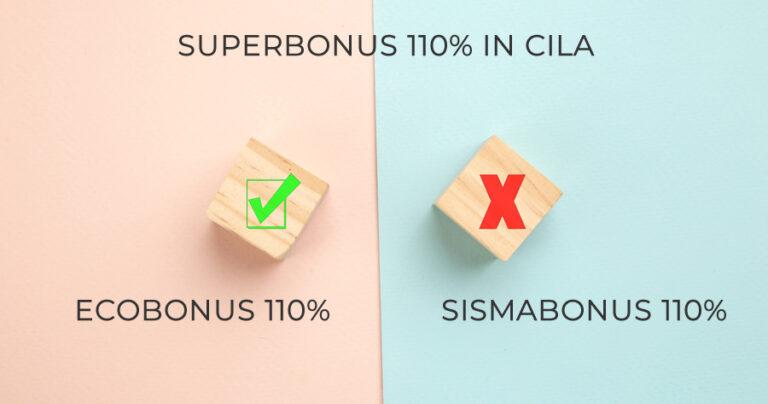Superbonus 110%, massima semplificazione con la modulistica unica della Cila