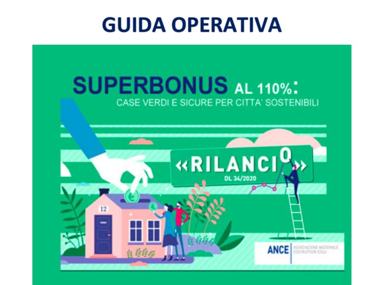 Ance, piattaforma web per orientare i cittadini al Superbonus 110%