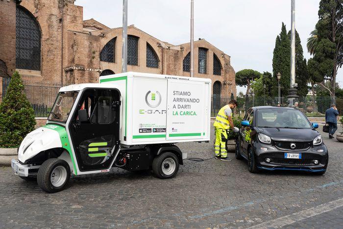 E-Gap, accordo con Merbag per ricarica elettrica on demand