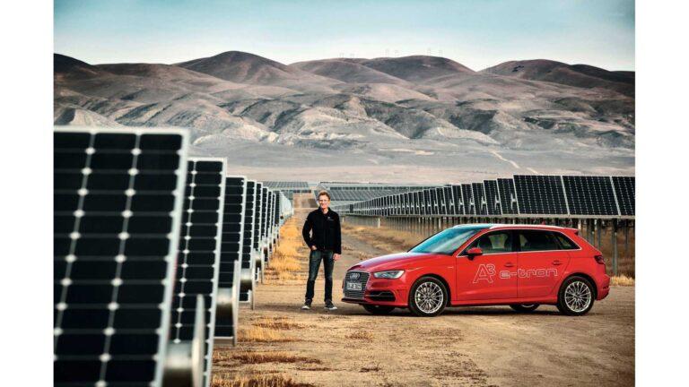 Audi si impegna a realizzare parchi eolici e solari in tutta Europa
