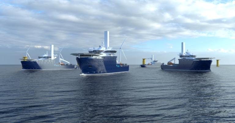 Eolico offshore, Varda costruisce due navi per operazioni di supporto