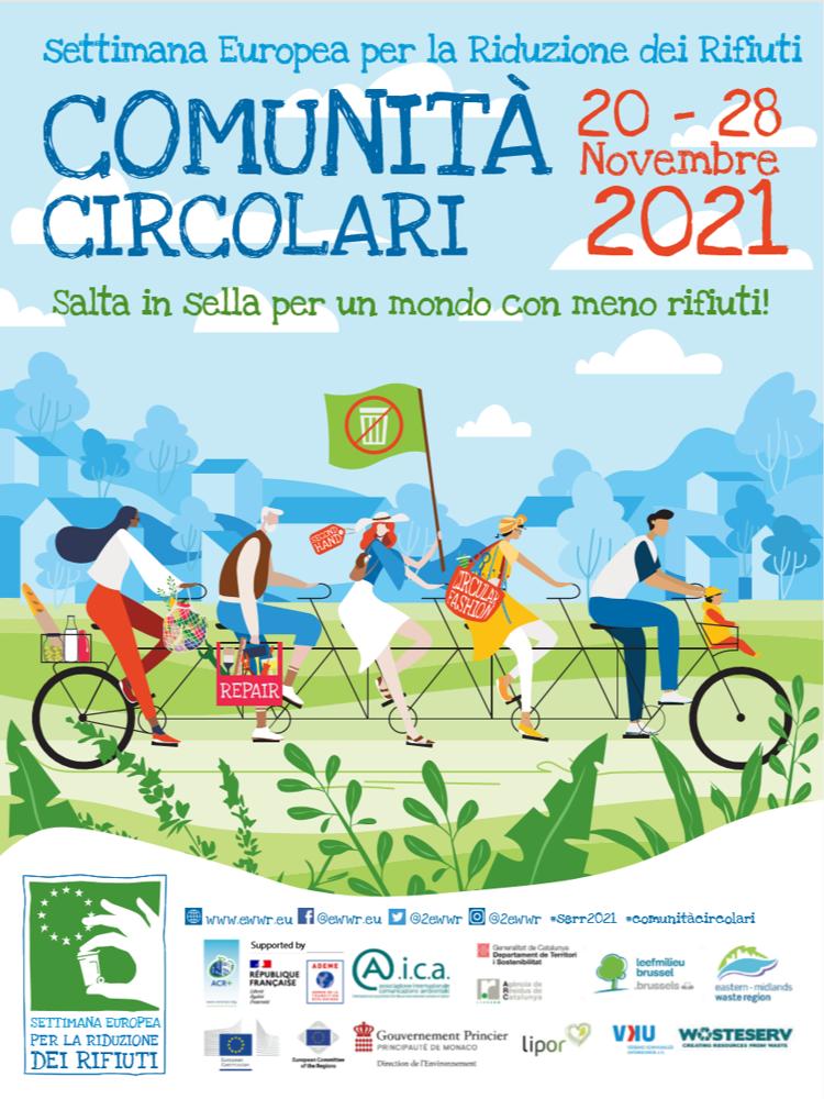 """L'annuale evento UE per la riduzione dei rifiuti è dedicato alle """"Comunità circolari"""""""