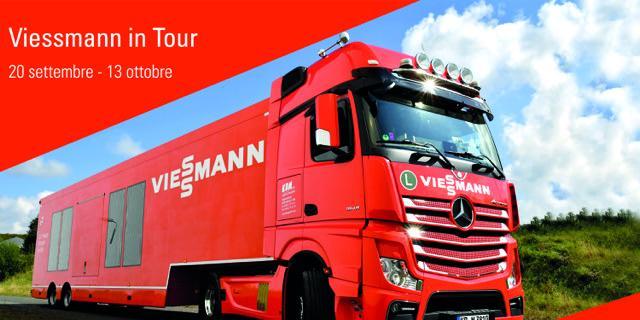 Fotovoltaico, il truck di Viessman in tour per presentare soluzioni innovative