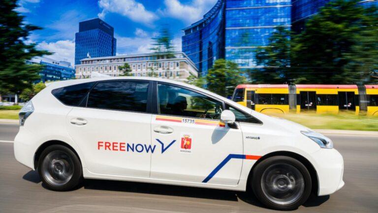 FREE NOW, aumentano le corse su auto elettriche