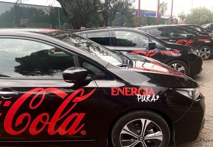 Sibeg (Coca Cola), accordo con Arval e Nissan per il noleggio di 98 auto elettriche