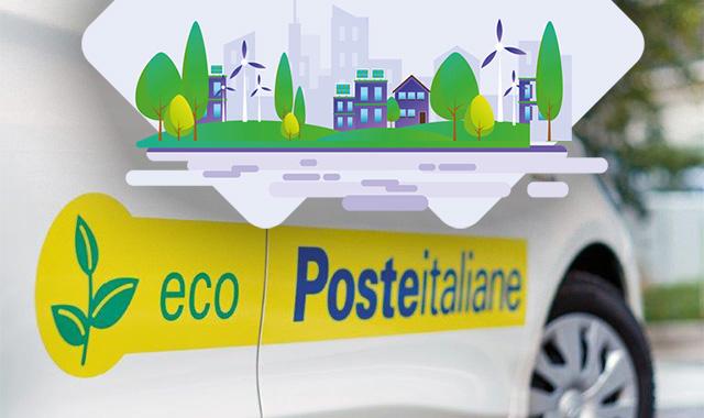 Poste Italiane, flotta aziendale elettrica e FV per la svolta green